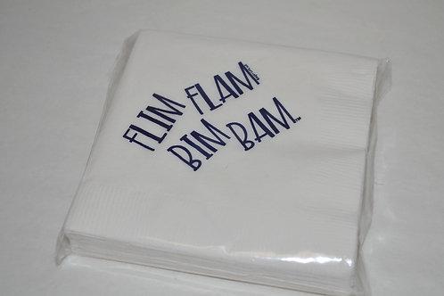 Flim Flam Bim Bam Napkins