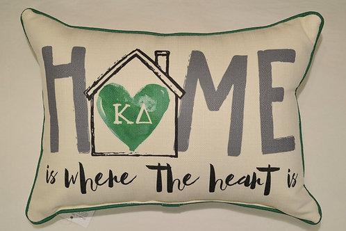 Kappa Delta Home Pillow