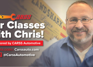 Car Class and Craft Beer with Chris