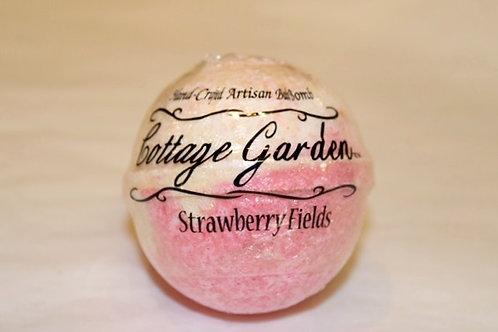 Strawberry Fields Bath Bomb