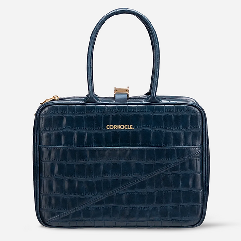 Corkcicle Navy Croc Baldwin Boxer Lunch Box