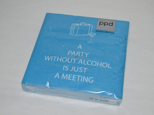 Party Without Alcohol Napkins