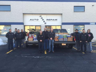 Program that provides food for the Crystal Lake Food Pantry.