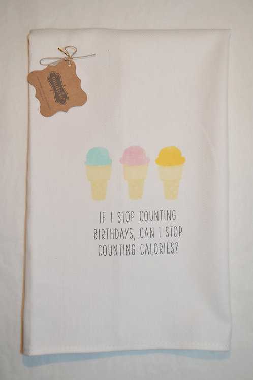 Counting Calories Towel