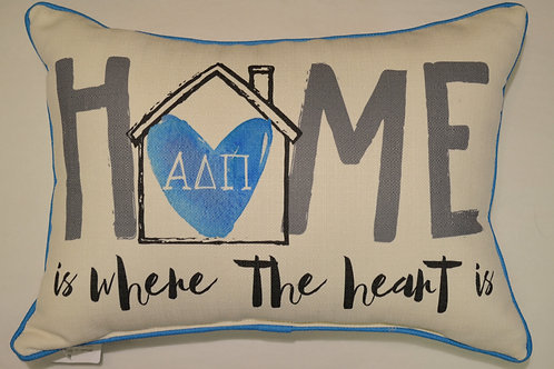 Alpha Delta Pi Home Pillow