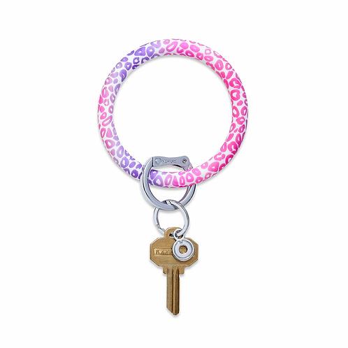 Silicone O-Ring Pink Cheetah