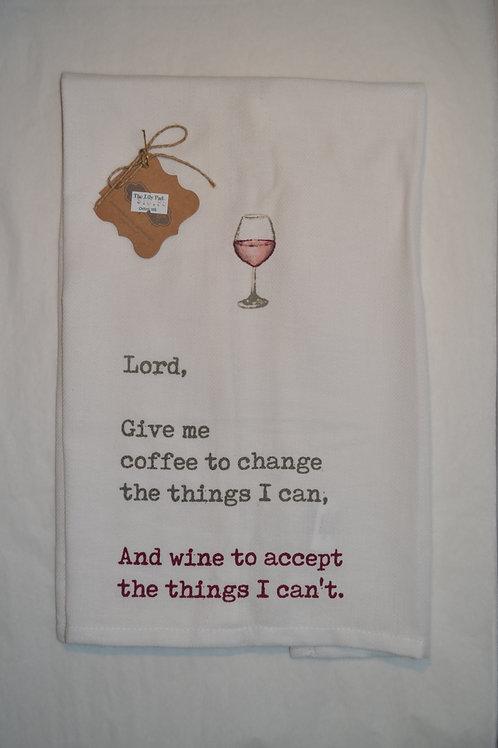 Wine Prayer Towel