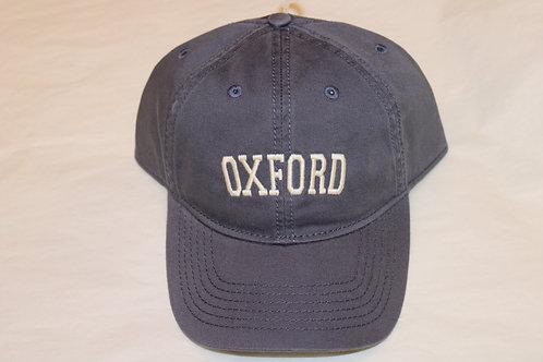 Navy Oxford Hat