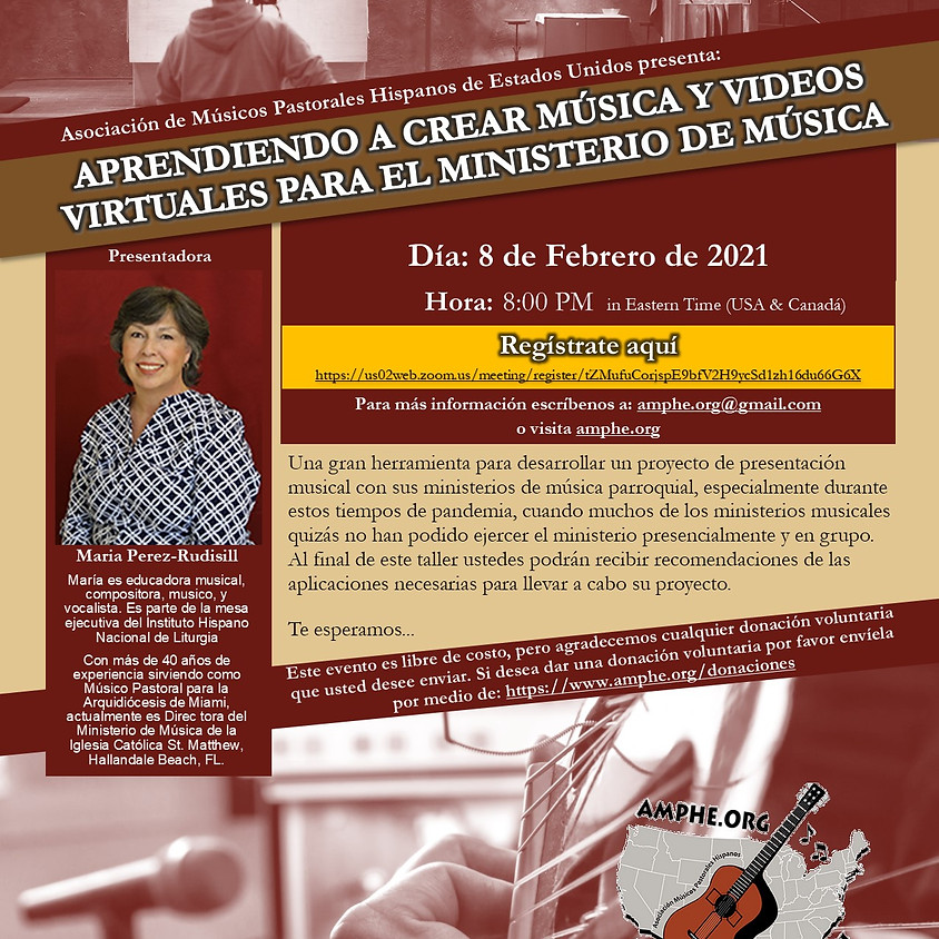 APRENDIENDO A CREAR MÚSICA Y VIDEOS VIRTUALES PARA EL MINISTERIO DE MÚSICA