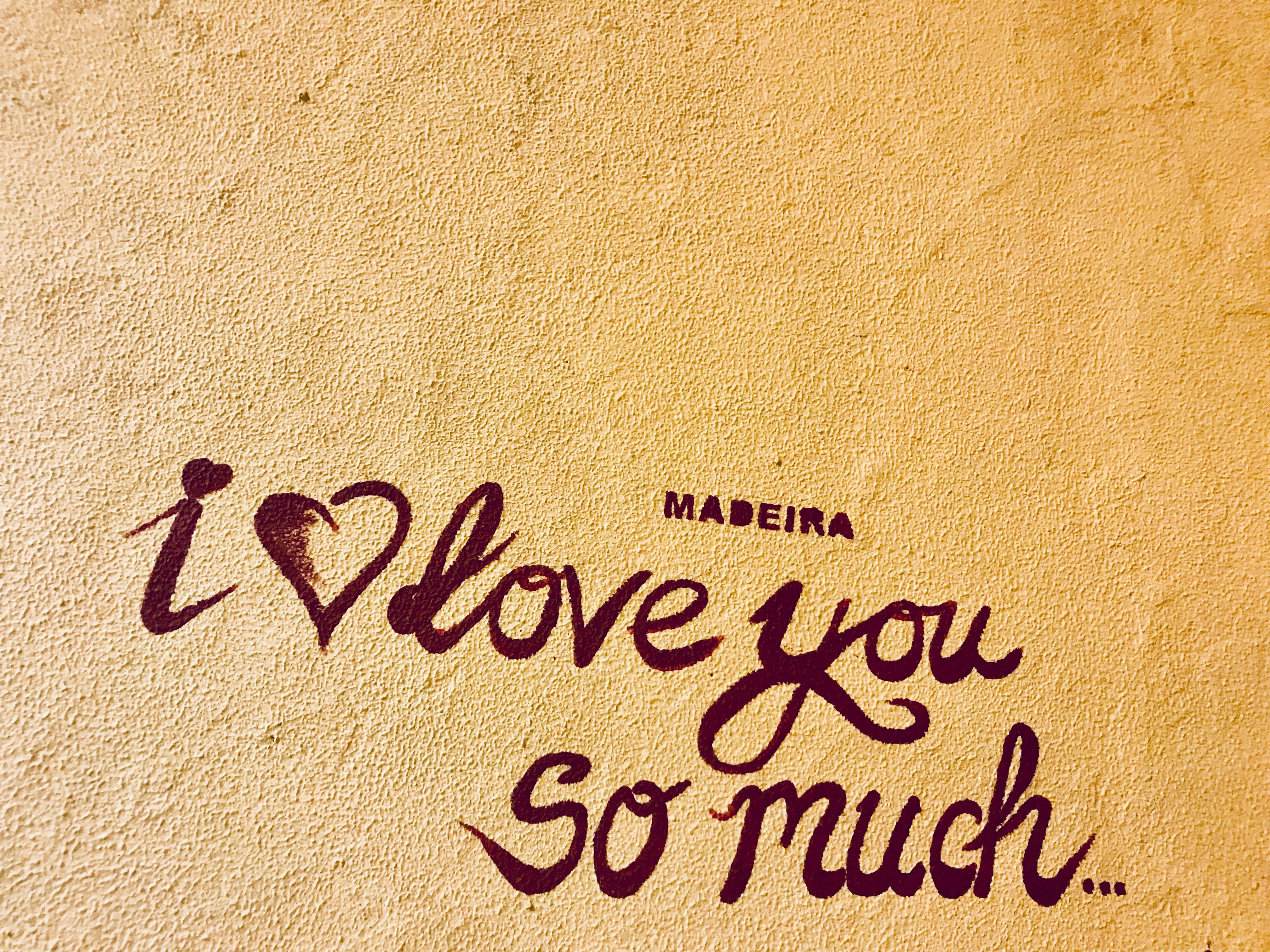 Madeira I love you