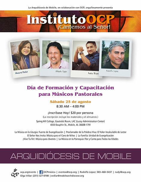 Instituto OCP–¡Cantemos al Señor!: Arquidiócesis de Mobile, AL.