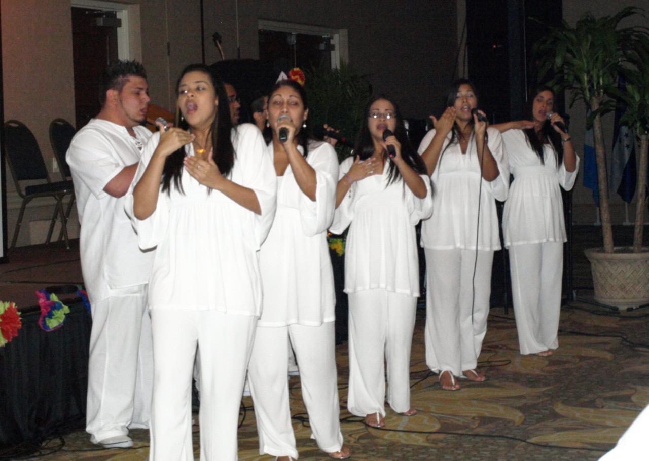 El Grupo Stella Maris participo desde Puerto Rico.