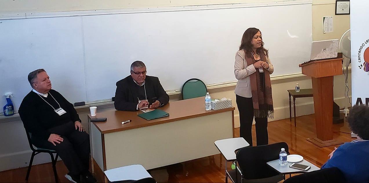 Damaris Thillet, Pedro Rubalcava y el padre Sosa