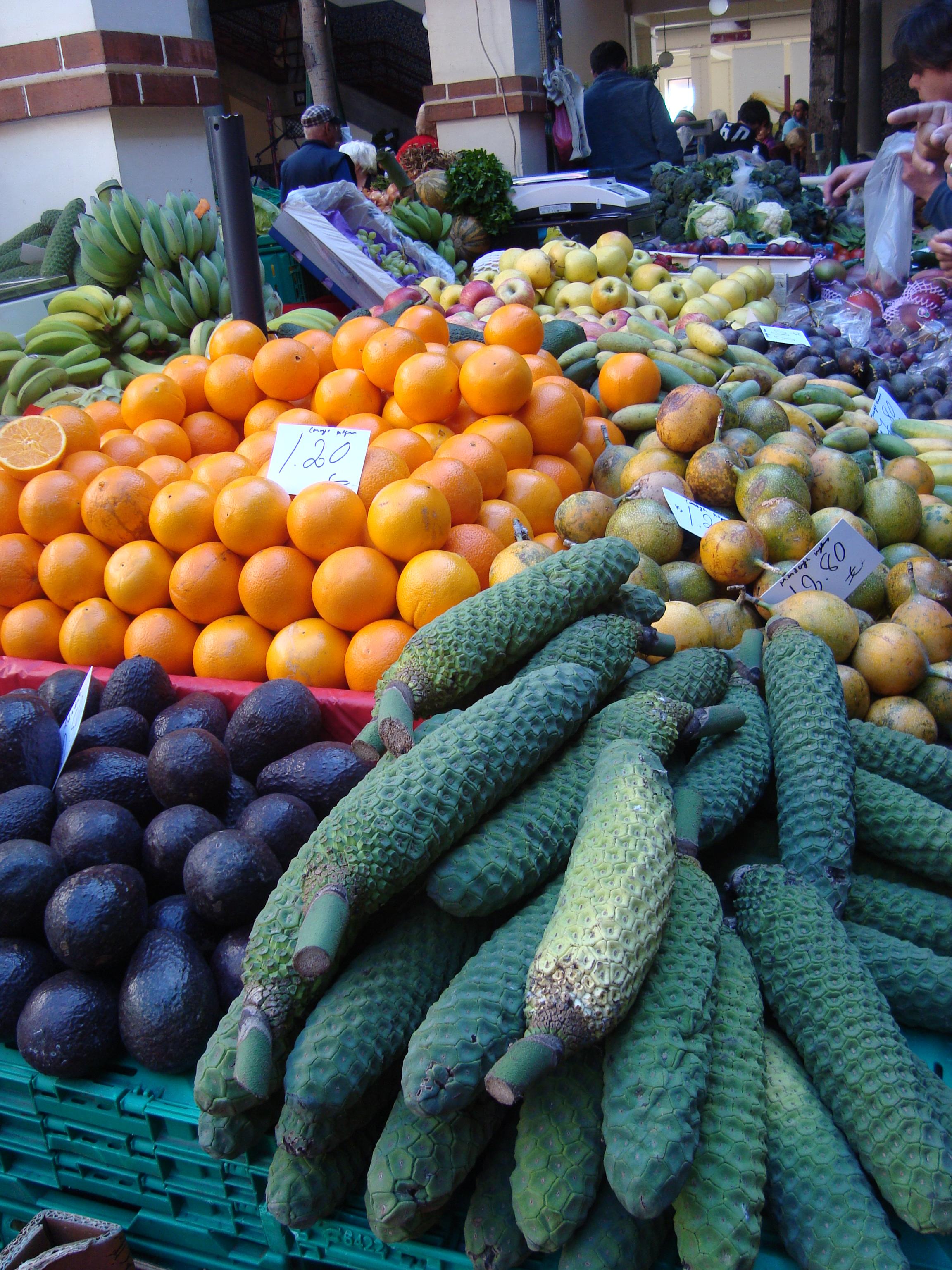 Markt in Funchal