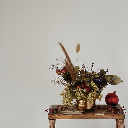 Merry Little Christmas Vase Arrangement