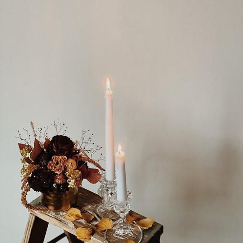 Christmas Wrapping Vase Arrangement