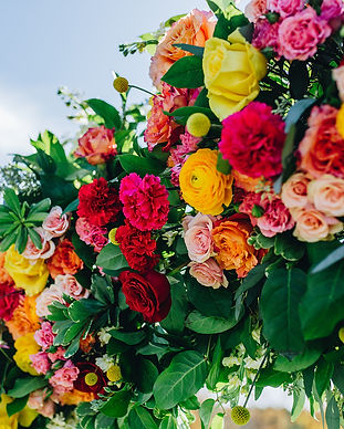 Vibrant Renegades by Andrea Johnson Floral Design