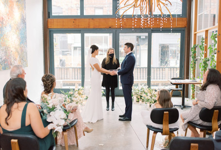Jesse & Andrew's Wedding by Andrea Johnson Floral Design
