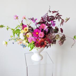 Arrangement featuring Willow & Wilde Florals