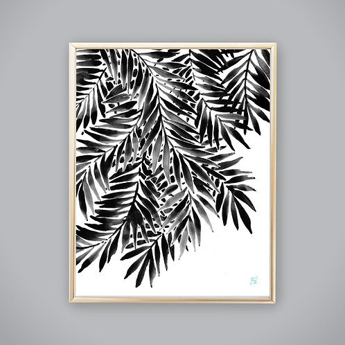 Frond Study • art print
