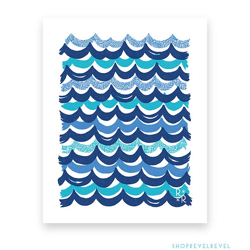Making Waves • art print
