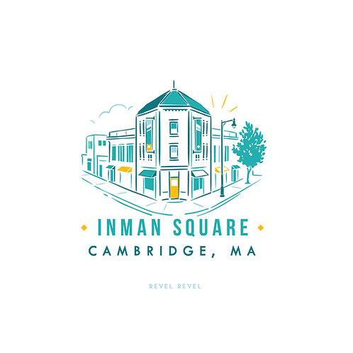 Inman Square • print