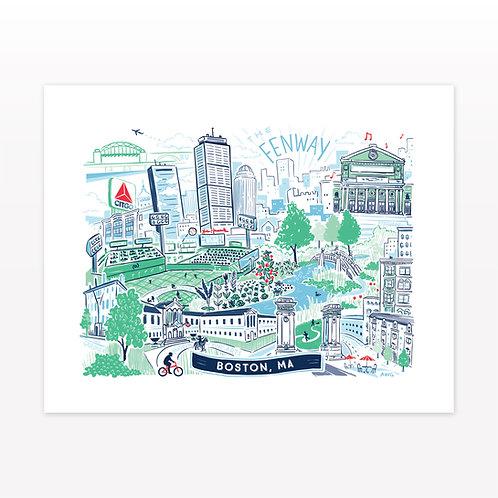 Boston - Fenway • art print