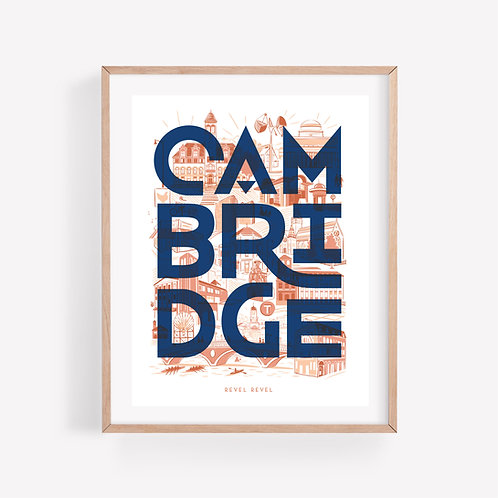Cambridge Blocks • art print