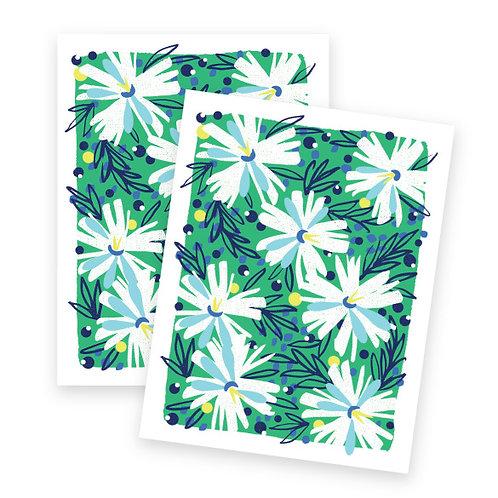 Fresh Floral • single or set