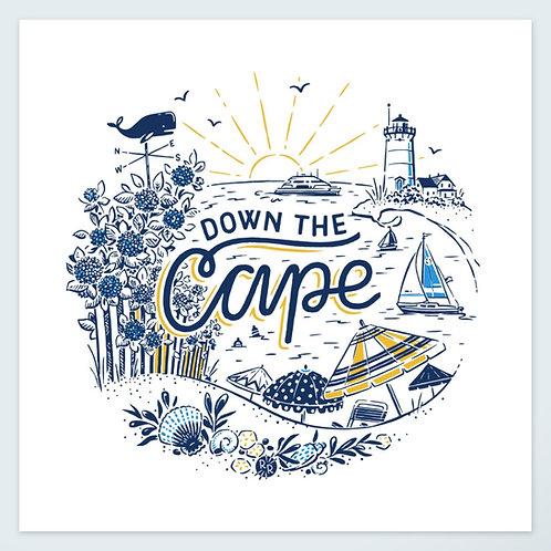 Down the Cape • art print