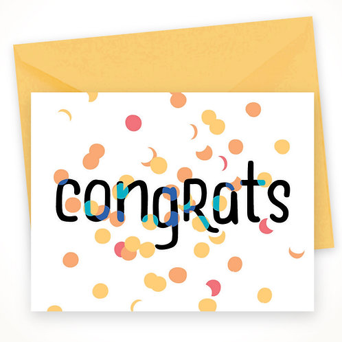 Congrats Confetti