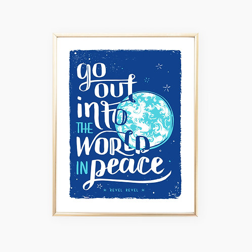 Benediction: World Peace • art print