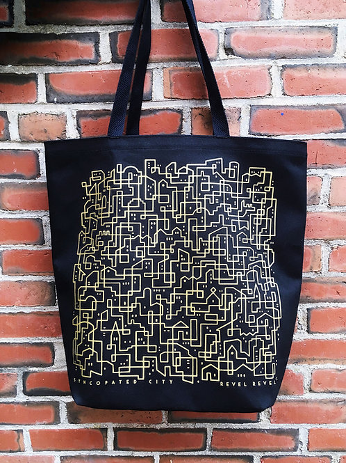 Syncopated City • grocery tote