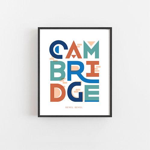 Cambridge colors • print