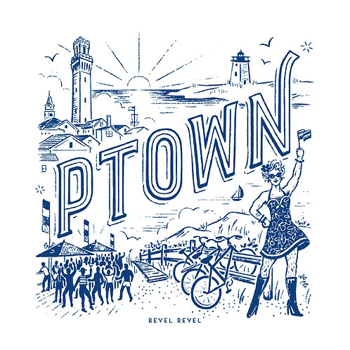Ptown • art print