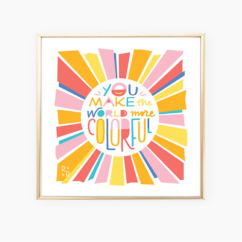 Colorful • art print