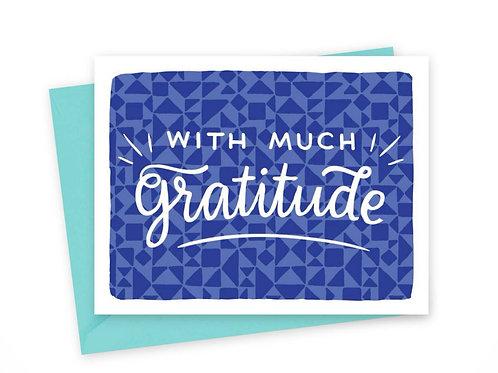 Much Gratitude • single or set