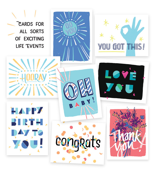 New in the shop: Greetings mix pack