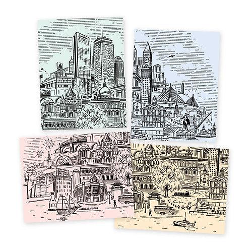 Boston Landmarks • mixed set
