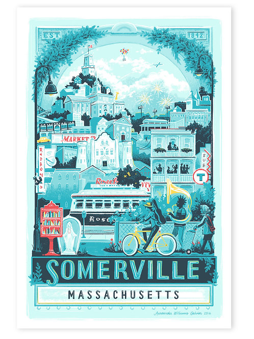 Somerville • art print