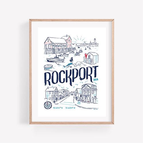 Rockport • art print