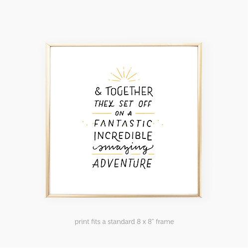 & Together • art print