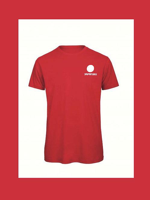 "T-shirt rouge ""JAPANISU"""
