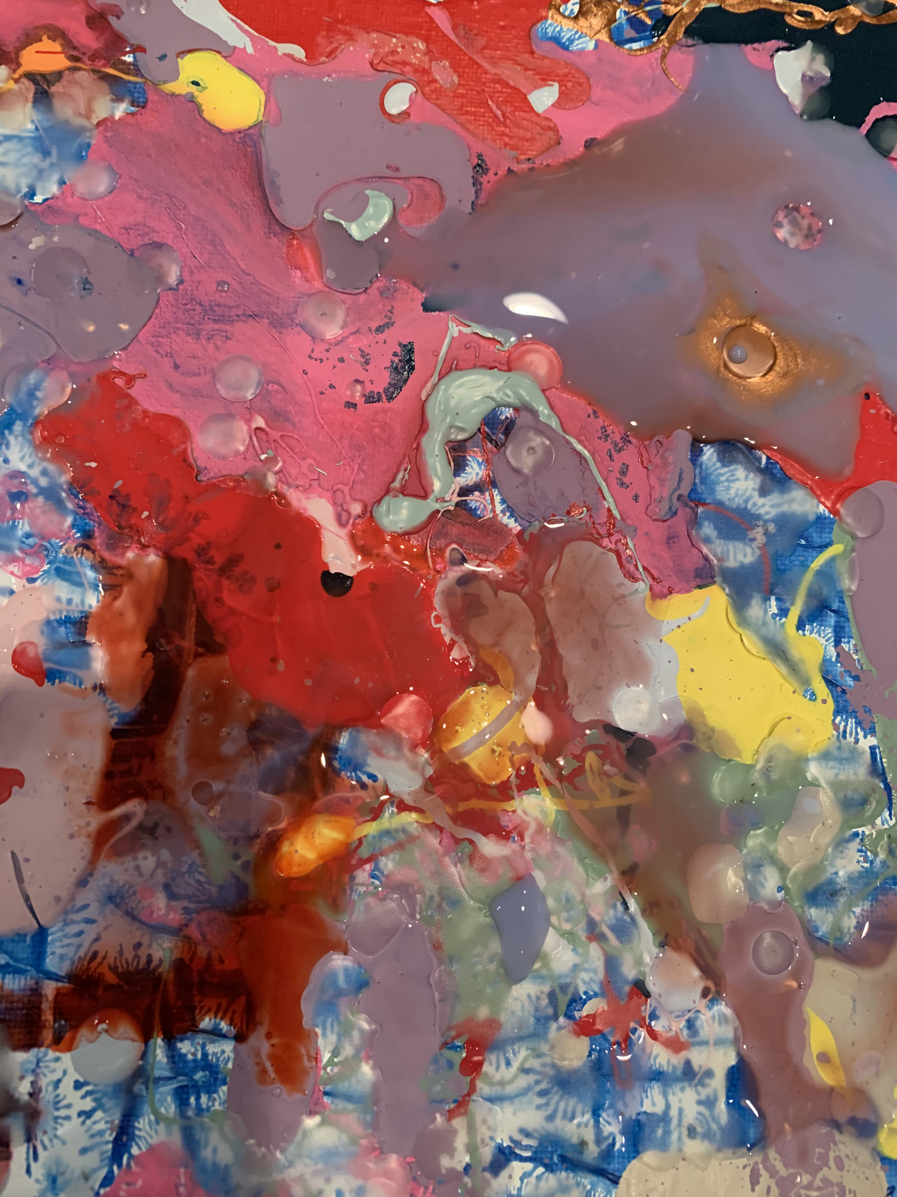 Abstraction with wax