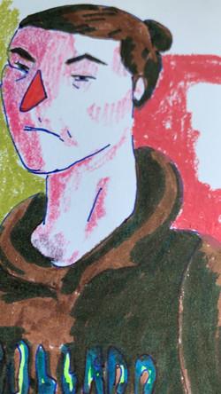Zoom self portrait