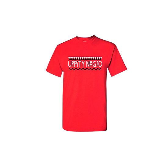 """Red """"Uppity Negro"""" T-shirt"""