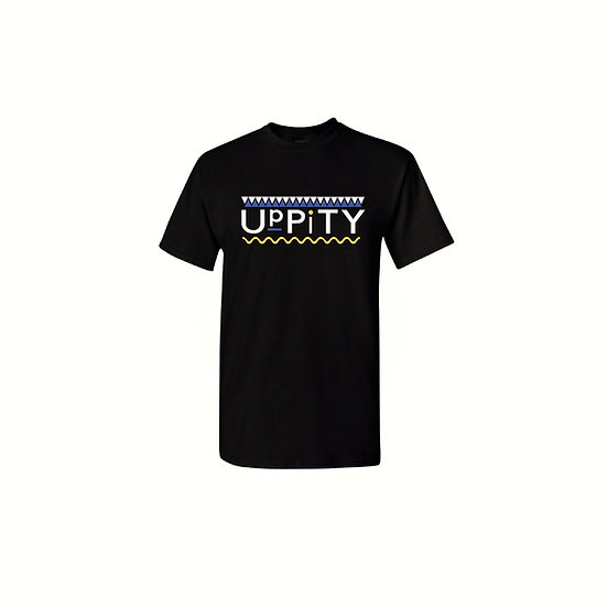 "Blue and Yellow ""Uppity"" T-shirt"