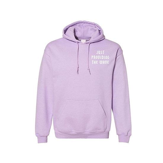 """Lavender """"WAVE"""" Hoodie"""