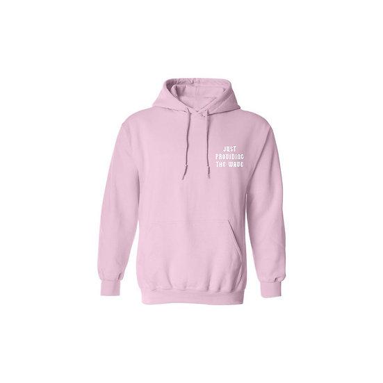 """Pink """"WAVE"""" Hoodie"""