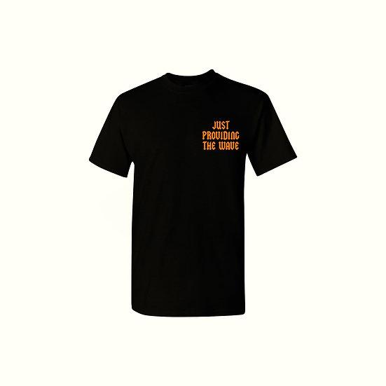 "Orange and Black ""WAVE"" T-shirt"